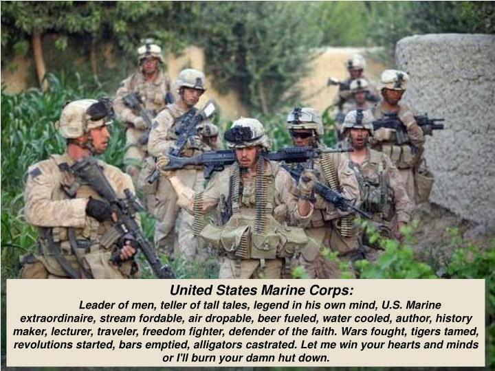 United States Marine Corps: