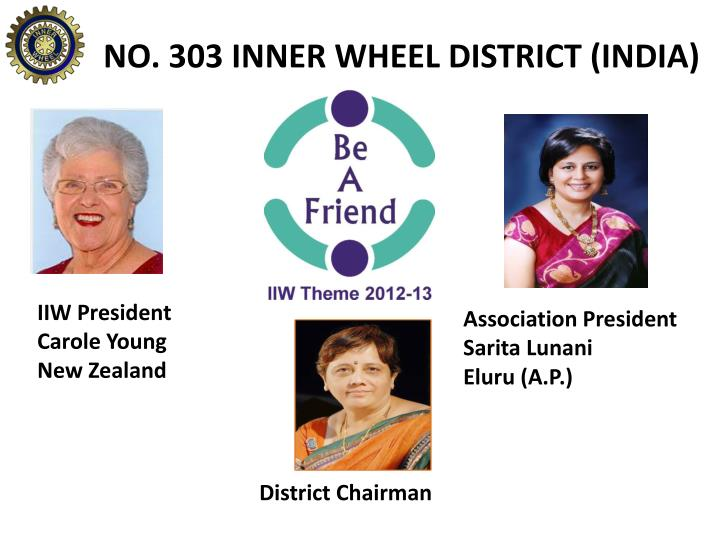 NO. 303 INNER WHEEL DISTRICT (INDIA)