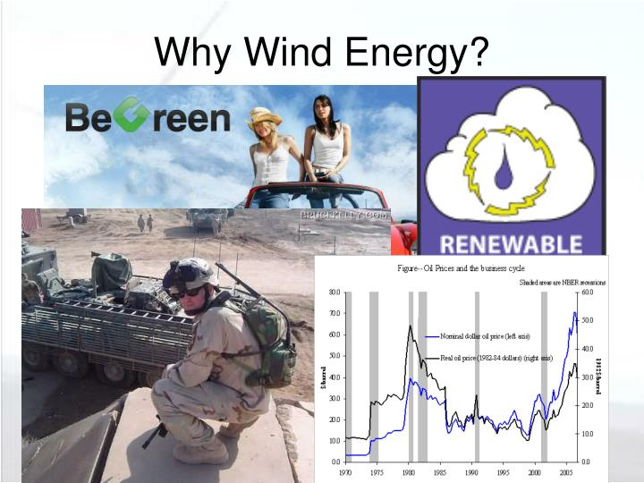 Why wind energy