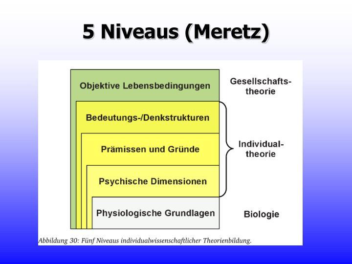 5 Niveaus (