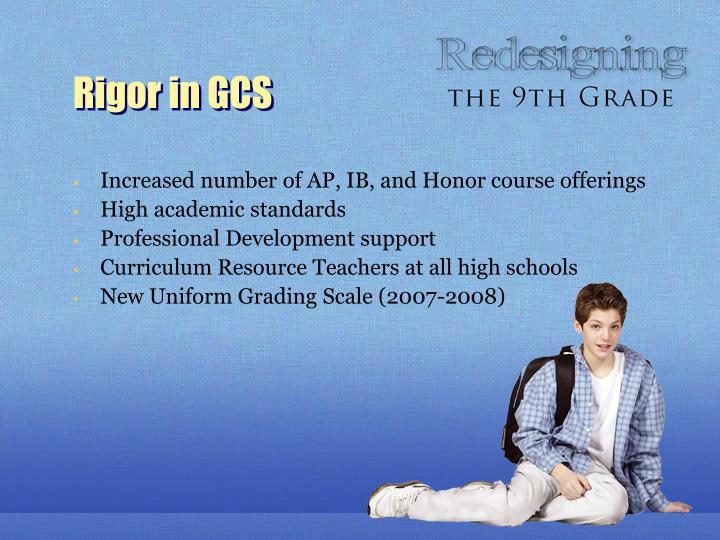 Rigor in GCS