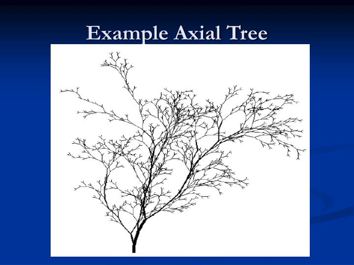 Example Axial Tree