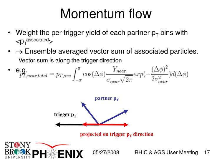 Momentum flow