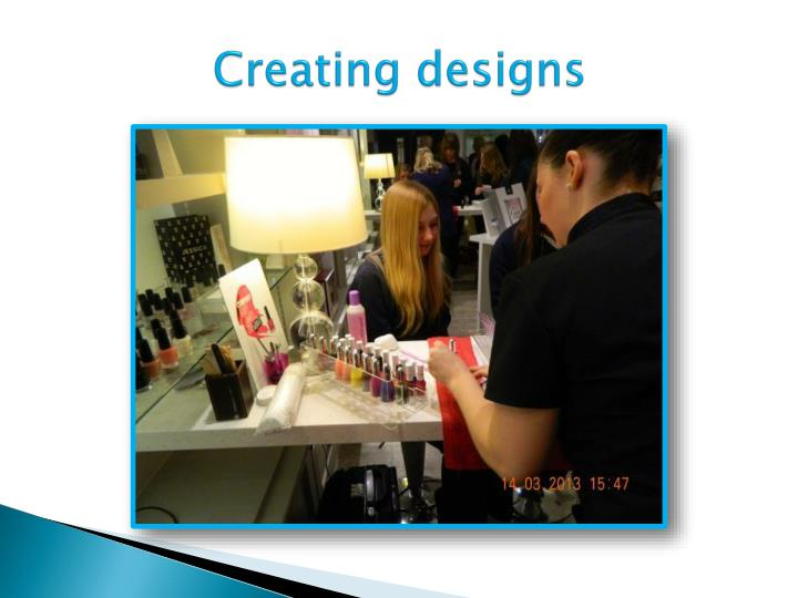 Creating designs