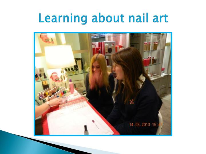 Learning about nail art