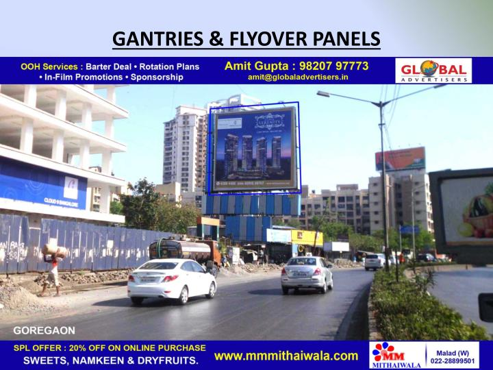 GANTRIES & FLYOVER PANELS
