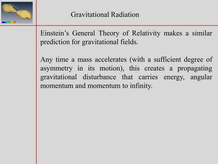 Gravitational Radiation