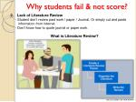 why students fail not score1