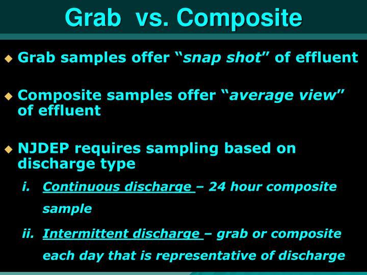 Grab  vs. Composite