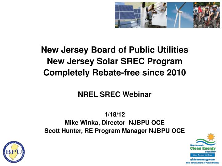 New Jersey Board of Public Utilities