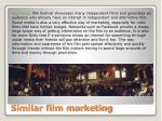 similar film marketing