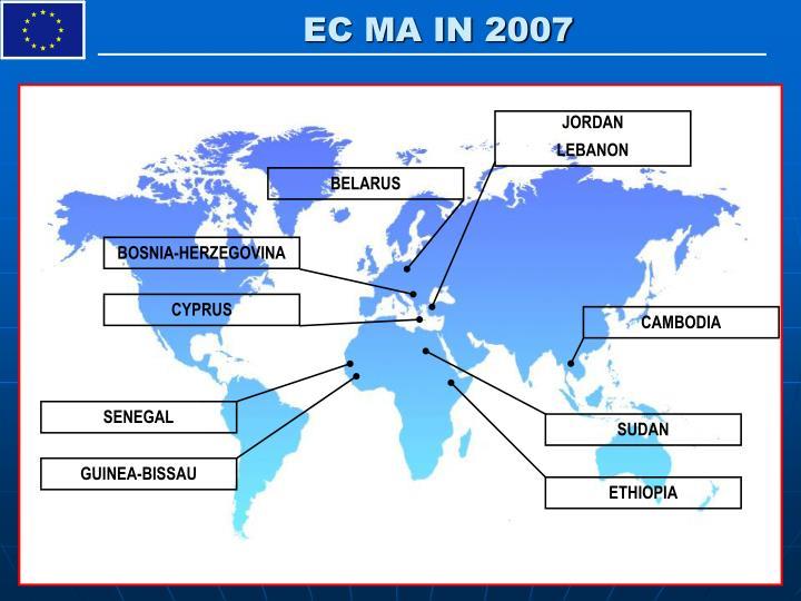 EC MA IN 2007
