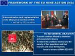 framework of the eu mine action ma