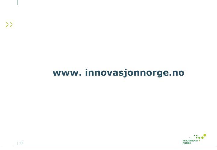 www. innovasjonnorge.no