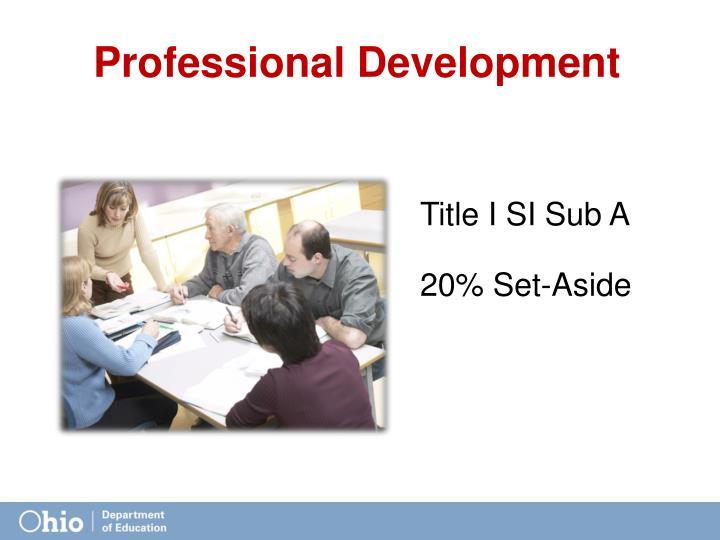Title I SI Sub