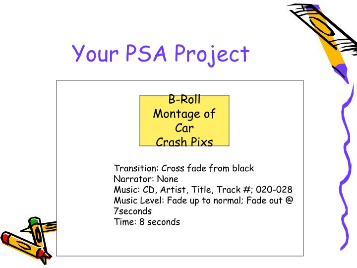 Your PSA Project
