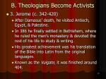 b theologians become activists10
