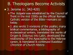 b theologians become activists11