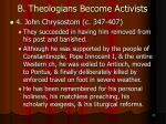 b theologians become activists15
