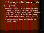 b theologians become activists17