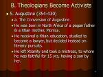 b theologians become activists18