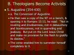 b theologians become activists23