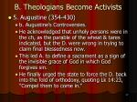 b theologians become activists30