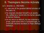 b theologians become activists9