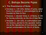 c bishops become popes13