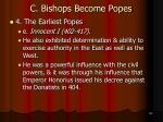 c bishops become popes26
