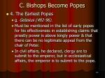 c bishops become popes30
