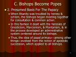 c bishops become popes7