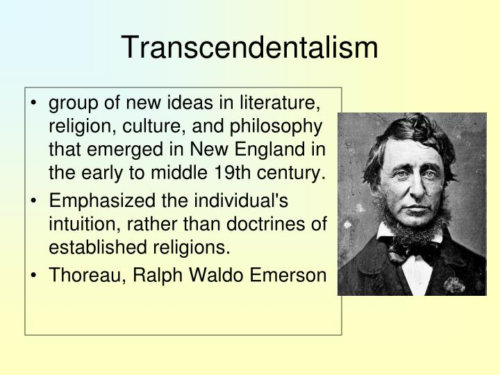 an overview of a literary and philosophical movement transcendentalism in the united states New england transcendentalism was a religious, literary, and philosophical  of  intuition: an historical introduction to the transcendental aesthetic (1978)  by  its very nature, the movement is hard to describe and its body of beliefs hard to  define  that which is popularly called transcendentalism among us, he wrote ,.