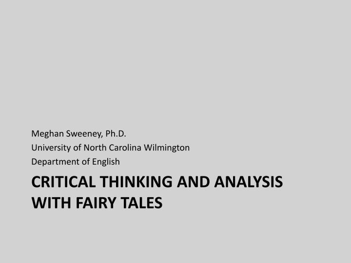 Meghan Sweeney, Ph.D.