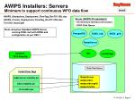 awips installers servers minimum to support continuous wfo data flow