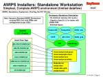 awips installers standalone workstation simplest complete awips environment limited dataflow