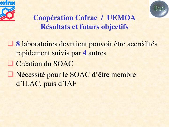 Coopération Cofrac  /  UEMOA