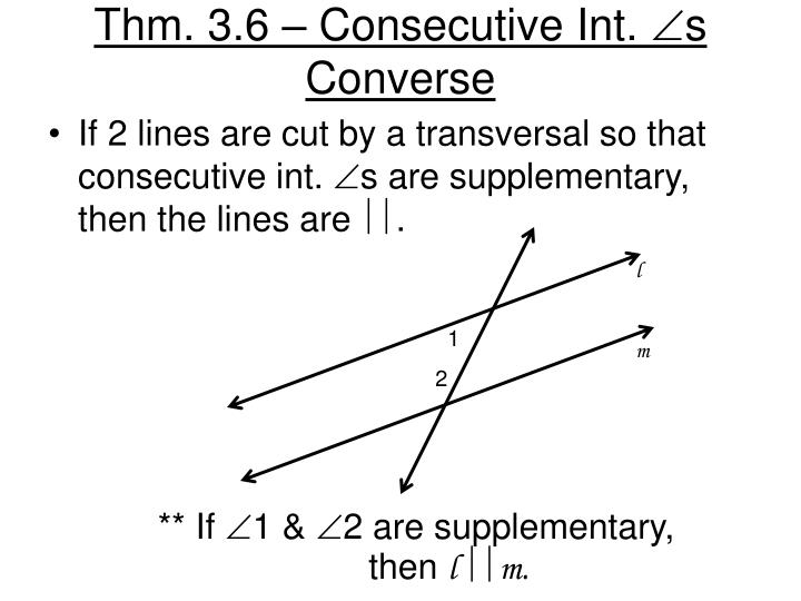 Thm. 3.6 – Consecutive Int.
