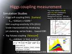 higgs coupling measurement2