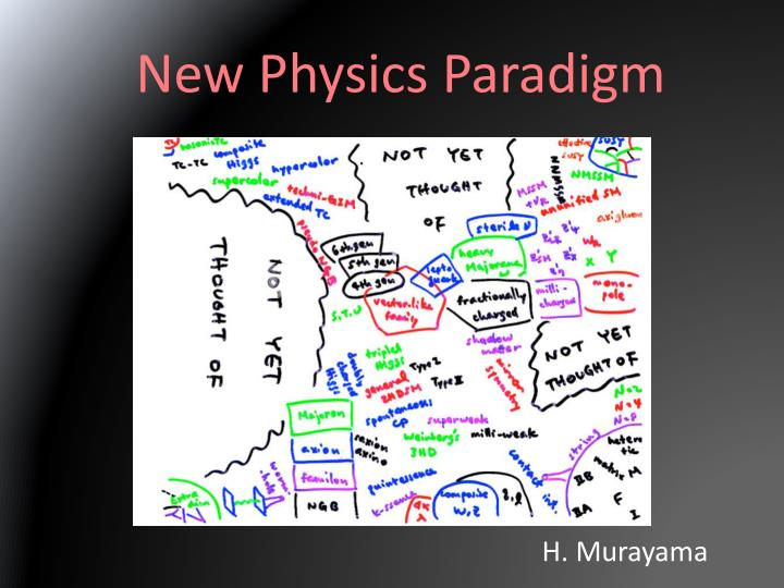 New Physics Paradigm