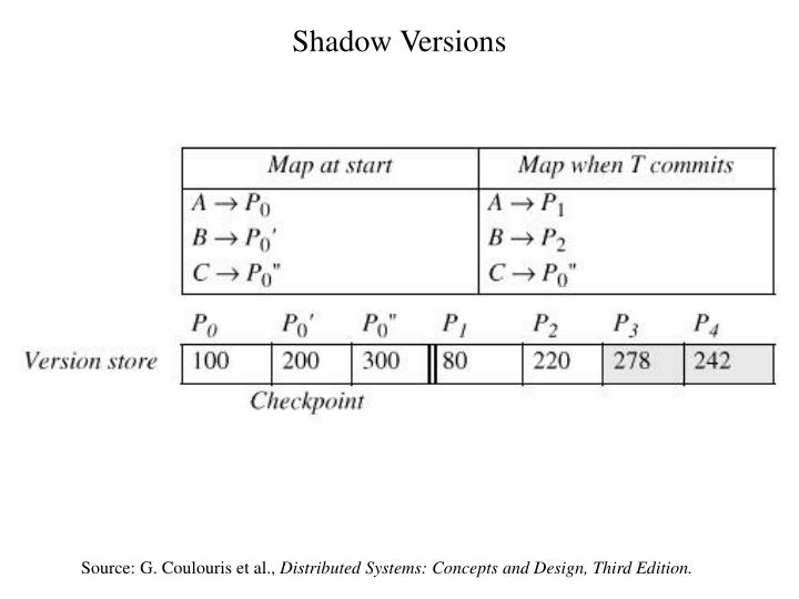 Shadow Versions
