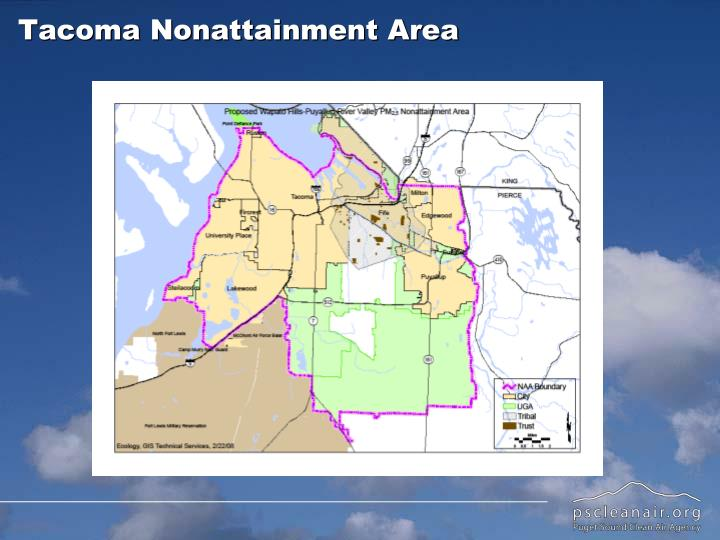 Tacoma Nonattainment Area