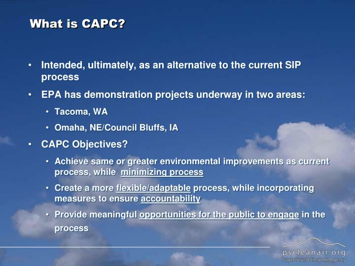 What is CAPC?