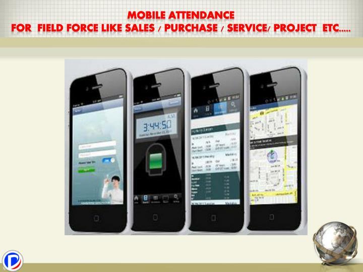 Mobile Attendance