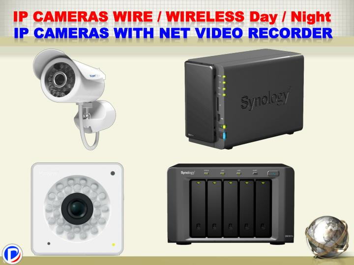 IP Cameras wire / wireless D