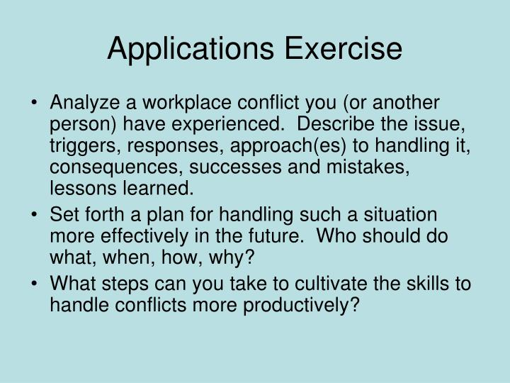 Applications Exercise