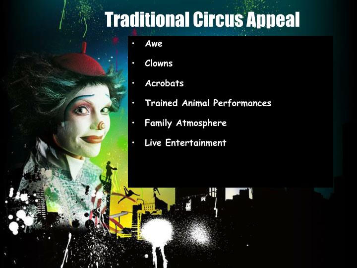 Traditional Circus Appeal