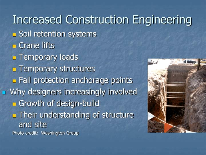 Increased Construction Engineering