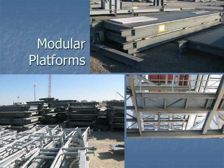 Modular Platforms