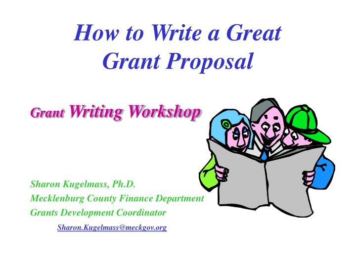 steps to writing a grant proposal 3 essay